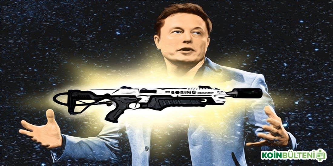 Elon Musk'ın Şirketinin Ürettiği Alev Makinesi Artık Bitcoin ile Satın Alınabiliyor